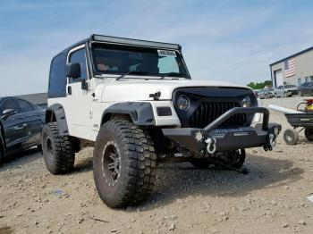 Salvage Jeep Wrangler